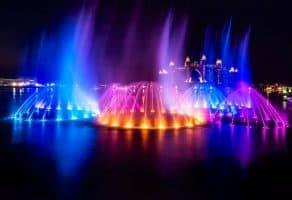The Palm Fountain - המזרקות בפאלם ג'ומיירה