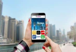 אפליקציות מומלצות למטיילים בדובאי