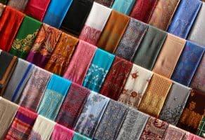 שוק הטקסטיל בדובאי