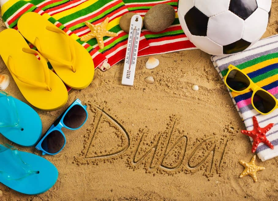עונת הקיץ בדובאי